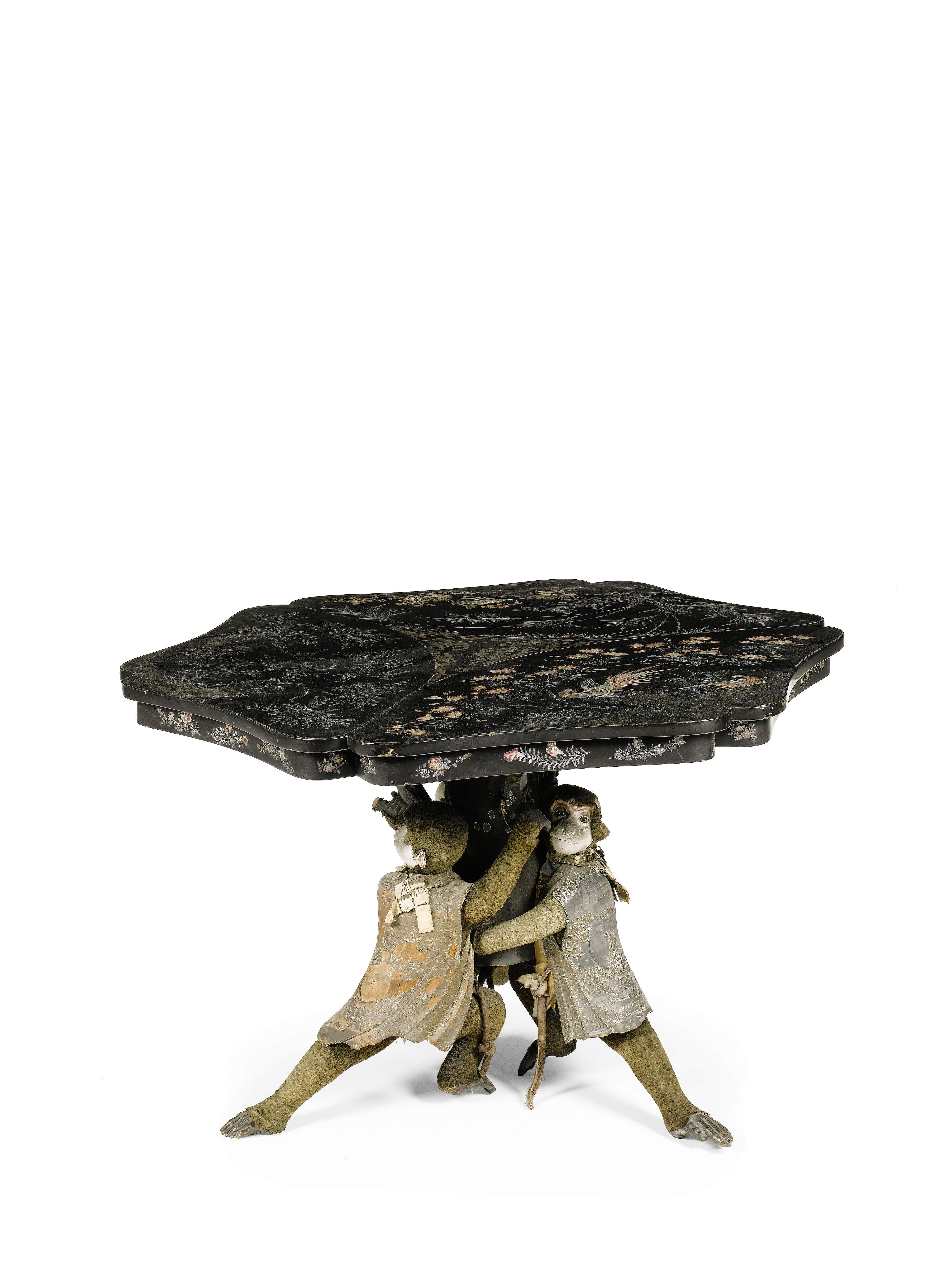 Trend Spotting at The International Fine Art And Antique  : monkey table chatsworth1 from www.decorartsnow.com size 4008 x 5344 jpeg 1144kB