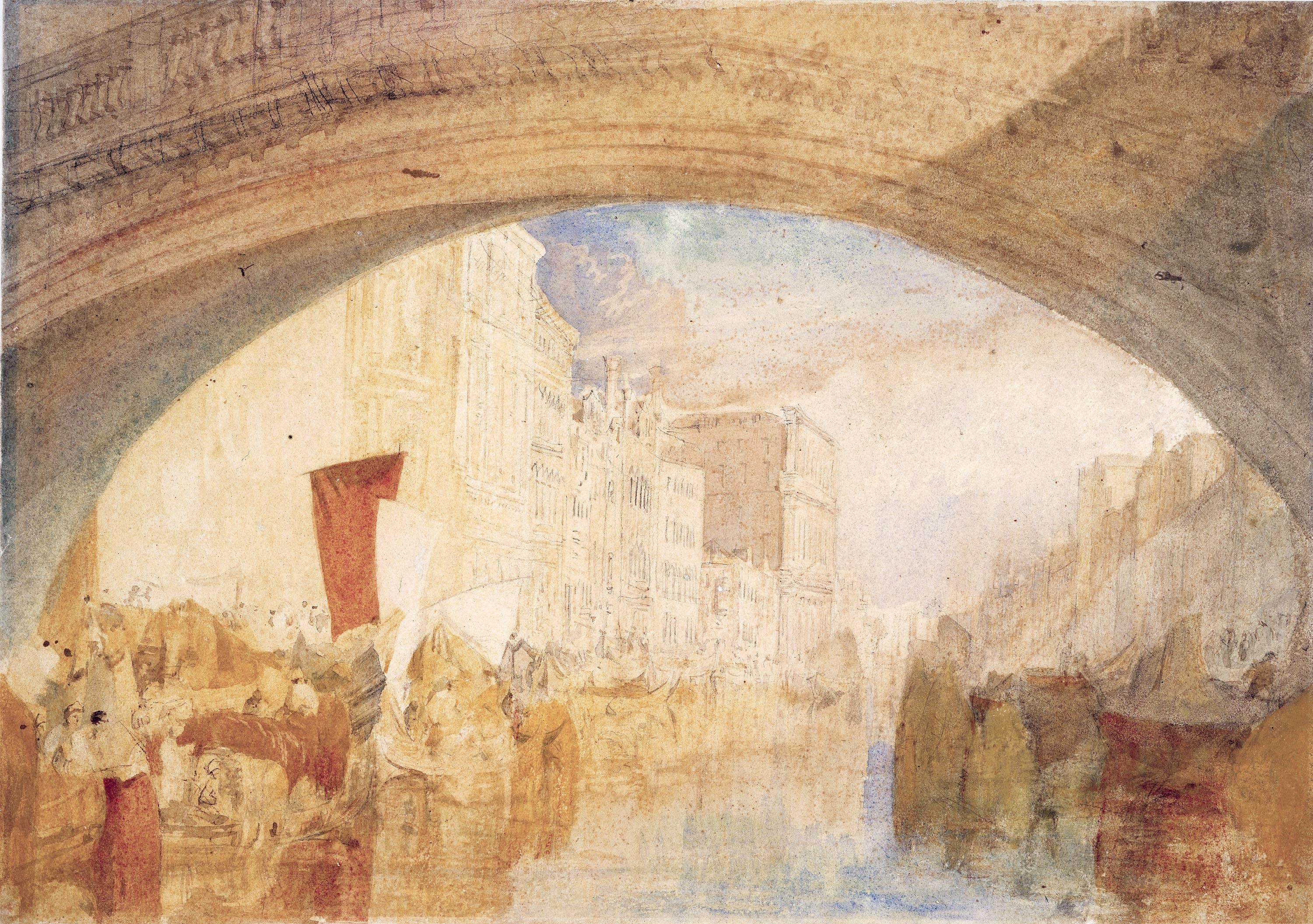 Turner Watercolours At National Gallery Of Ireland