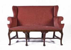 Some Irish Furniture From Adams Auction In Slane Castle