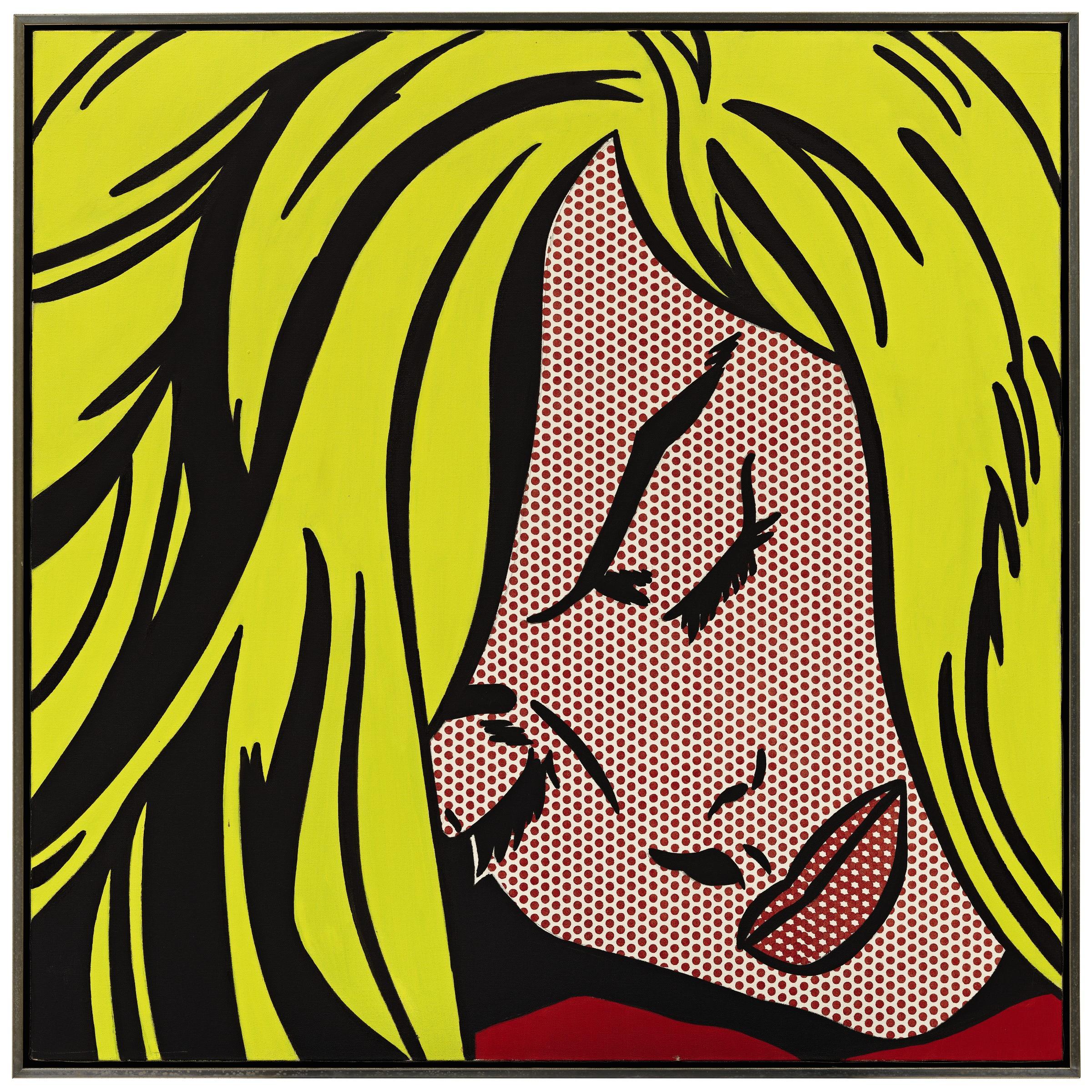 Lichtenstein s sleeping girl at sotheby s - Roy lichtenstein cuadros ...