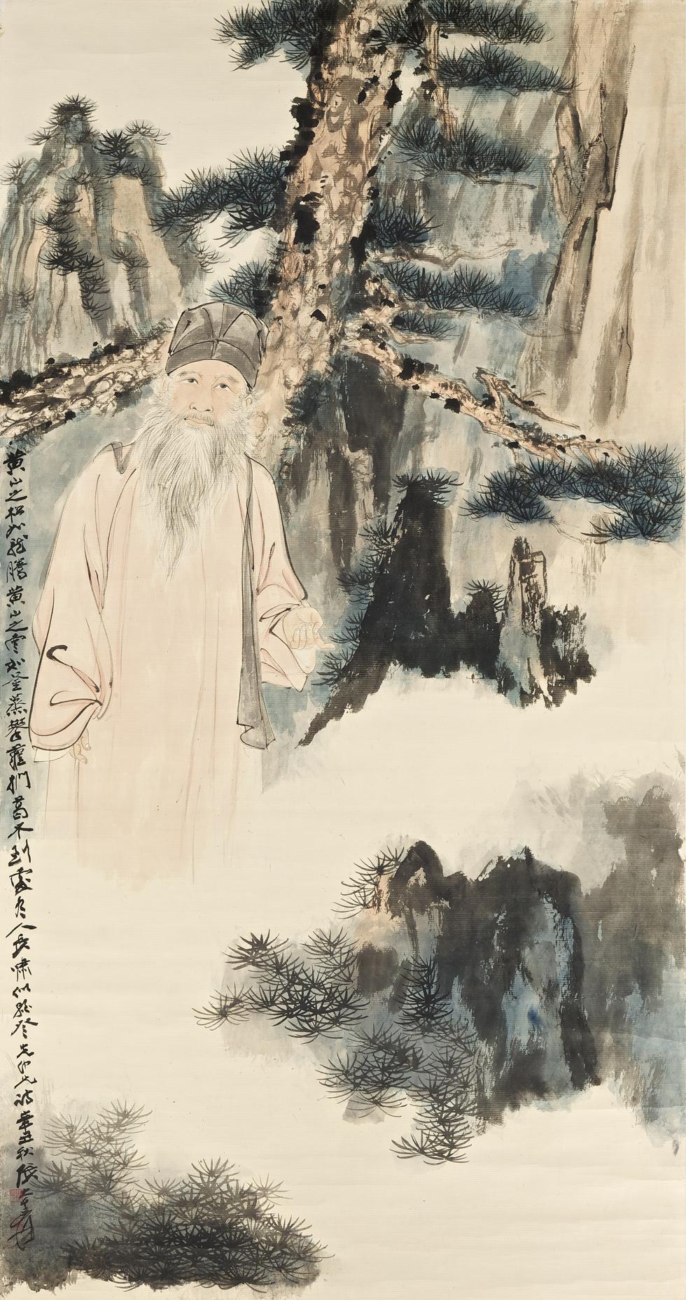 Zhang Daqian The World S Top Selling Artist At Auction In 2011 171 Antiquesandartireland Com