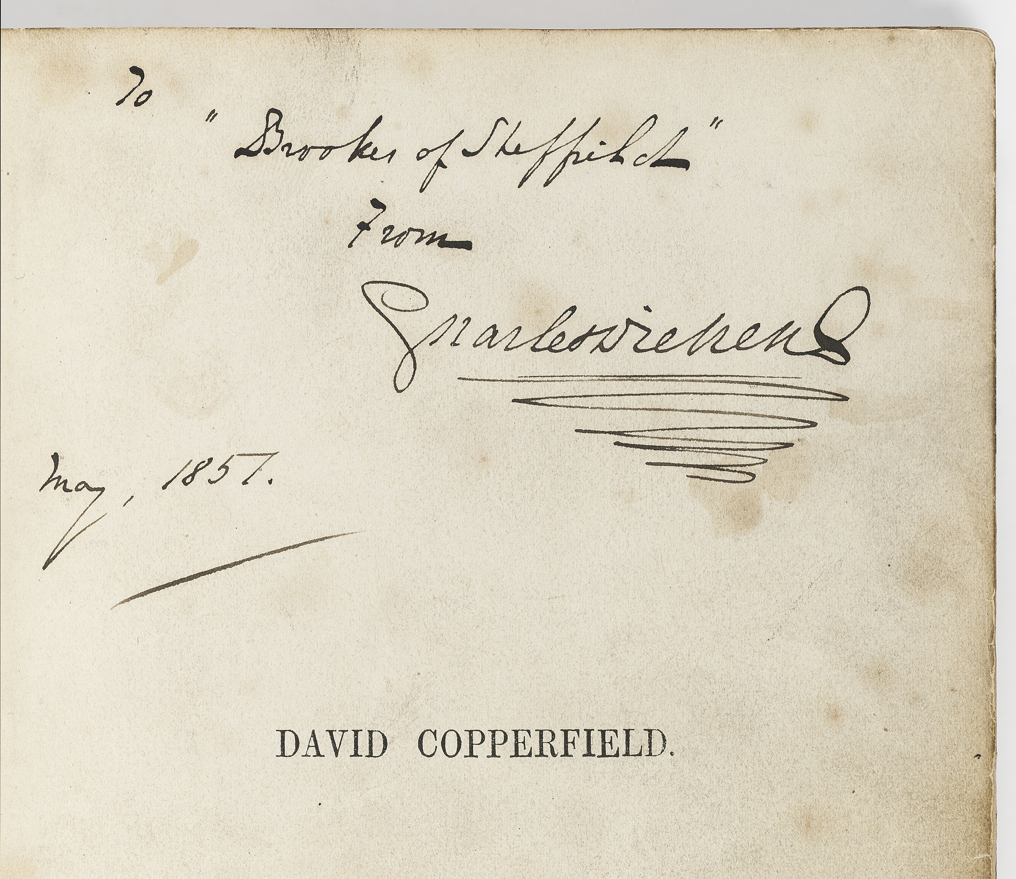 david copperfield signed and presented by dickens at christie s david copperfield signed and presented by dickens at christie s