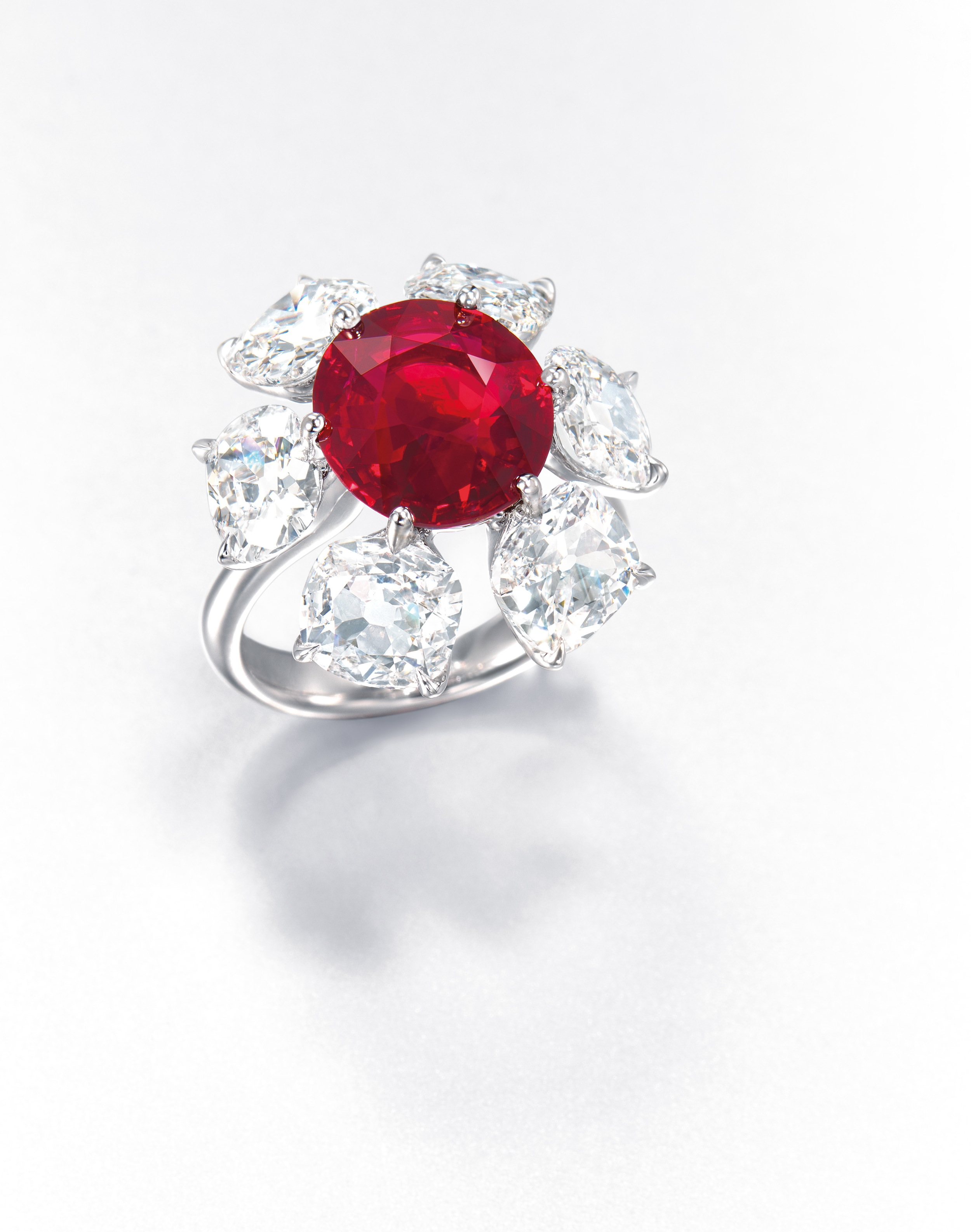blood diamond ring ringscladdagh dramatic diamond ring from jar at christie s