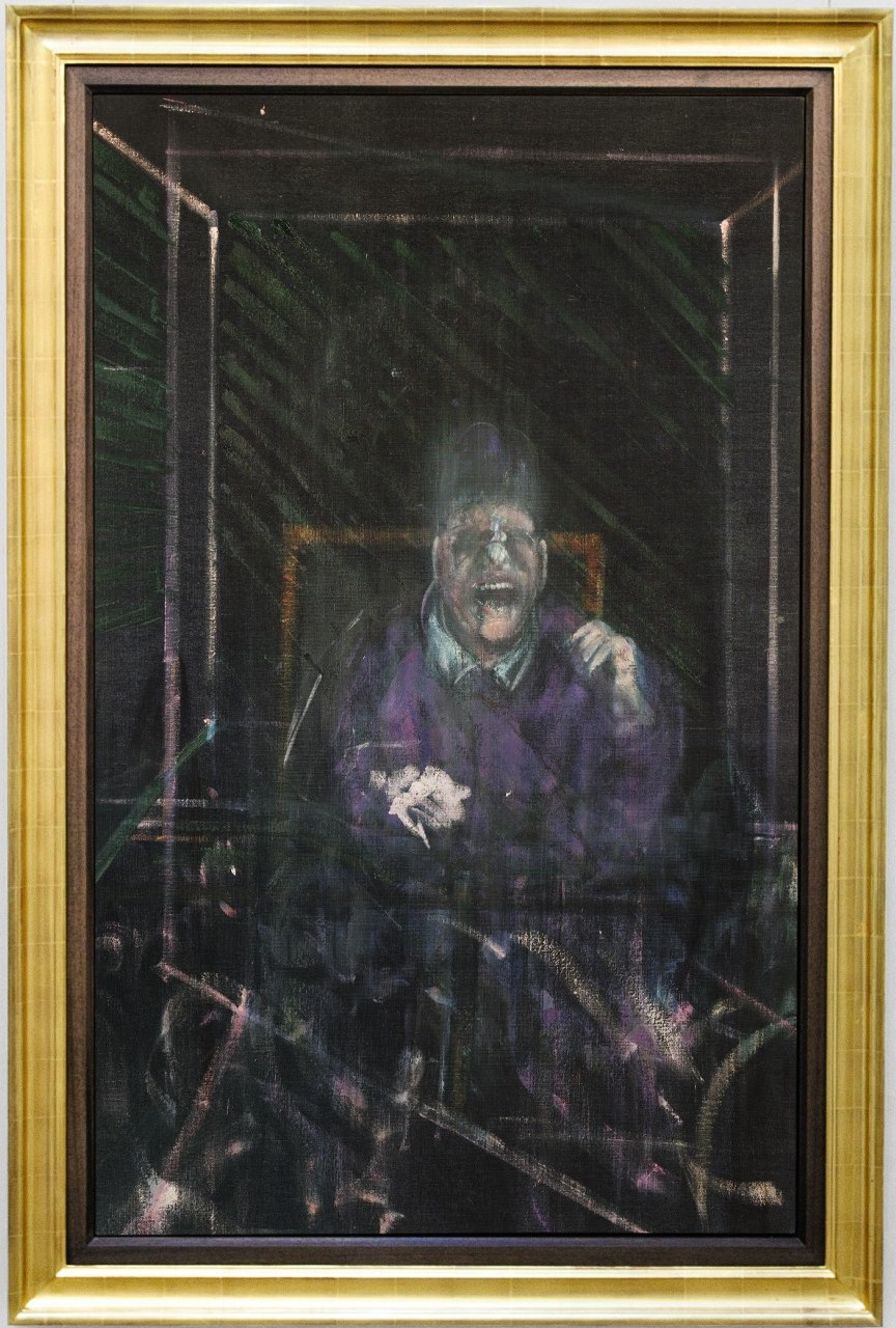 SCREAMING POPE BY BACON AT SOTHEBY'S IN NEW YORK ... Francis Bacon Artist Screaming Pope