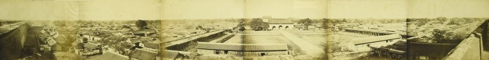 This panoramic view of Beijing dates from October 1860.