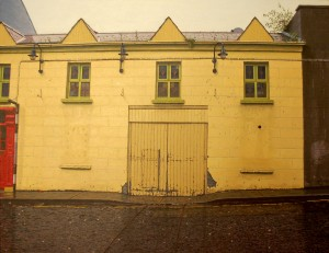 'The Yellow House' by John Doherty from his show at Taylor Galleries. It is priced at 10,000.