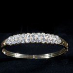 A 19th century diamond bracelet (4,000-6,000).  (Click on image to enlarge).