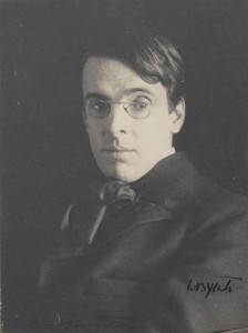 YEATS, WILLIAM BUTLER (1865-1939) PORTRAIT BY THE AMERICAN PHOTOGRAPHER ALICE BOUGHTON (1866-1943) SIGNED BY YEATS made 18,750.