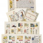 BURGES, William (1827-1881), a collection of illuminated letters and drawings, in English.