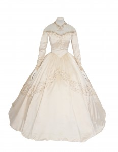 Elizabeth Taylor's 1950 wedding dress designed by Helen Rose at Christie's © Christie's Images Limited 2013