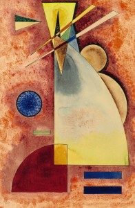 Kandinsky, Wassily., Ineinander, 1928, (600,000800,000).  Click to enlarge.