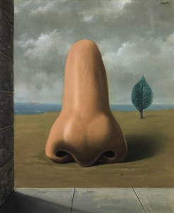 Magritte, Ren - La Bonne Aventure, 1937, (1  1.5 million). (Click on image to enlarge).