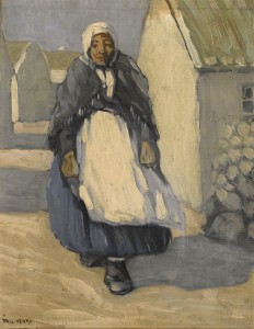 Paul Henry (1876-1958) Achill Woman £70,000-100,000).
