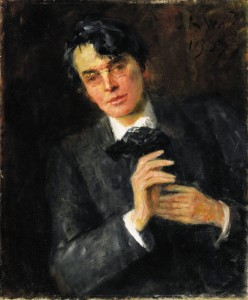 John Butler Yeats' tender portrait of his son William Butler Yeats sold for £80,500.