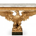 18th Century Eagle Console Table. (Click on image to enlarge).