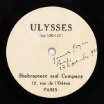 Joyce, James Ulysses (pp. 136-137). Paris: Shakespeare and Company, 1924.