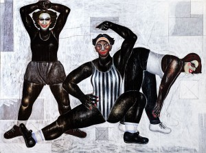 I Nyoman Masriadi (b 1973), Aerobik 2000  ($154,000-232,000).