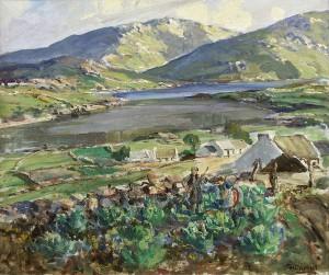 James Humbert Craig RHA RUA (1877-1944) Cloud Shadows in the Rosses, Co Donegal (3,000-5,000)