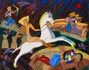 Basil Ivan Rakoczi (1908-1979) The Sun Horse (6,000-9,000).