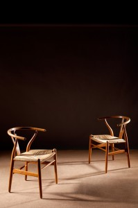 The Wishbone Chair by Hans Wegner, set of six, (2,000-4,000)