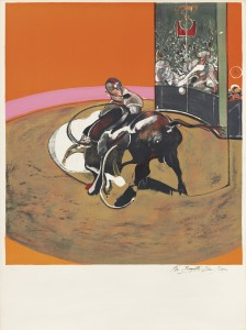 Study for a bullfight no, 1 (S. 10) Lithograph in colours, 1971 (£40,000-60,000)