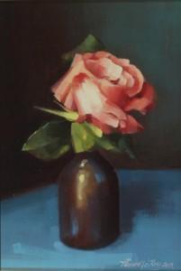 David ffrench le Roy - Single Rose (500-700).