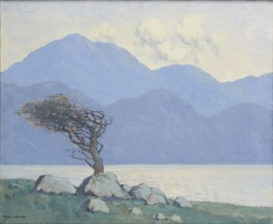 Paul Henry RHA RUA 1876-1958 THE WIND BLOWN TREE, KILLARY HARBOUR sold for 95,000