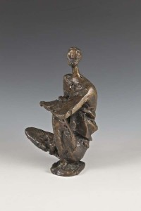 Frederick E. McWilliam HRUA RA (1909-1992) Study for Homer II Bronze (4,000-6,000)