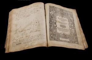 Geneva Bible  Christopher Barker, London, 1574 (2,000-3,000).