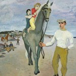 Gerard Dillon RHA RUA (1916-1971) The Jockey sold for 92,000 at hammer.