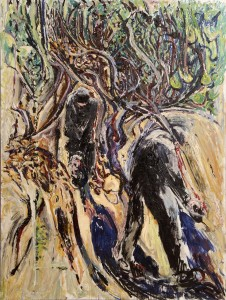 Patrick Swift (1927-1983) - The Olive Pickers sold for 15,500.