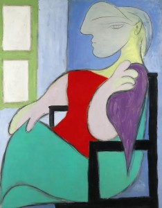 PABLO PICASSO 1881 - 1973 FEMME ASSISE PRÈS D'UNE FENÊTRE was the most expensive painting sold at auction in Europe this year. It made £28,601,250.