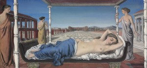 Paul Delvaux La Vénus endormie 1943 (£1.2-1.6 million).