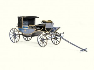 A 19th-century Royal children's carriage Made for Prince Adalbert (£5,000-7,000).