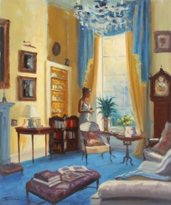 Norman Teeling - Summer light in the drawing room (650-850)