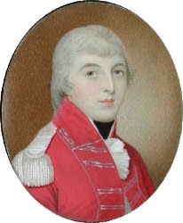 The earliest known portrait of the Duke of Wellington, aged 19, was shown at the Loan Exhibition.