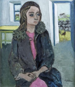 Gerard Dillon (1916-1971) Kathleen Joyce - sold for 33,500 at hammer.