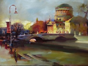 'The Four Courts, after Osborne' by Patrick Cahill,.