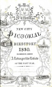 Rare Dublin directory - Shaw (Henry) New Pictorial Directory 1850