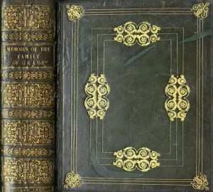 An Extremely Fine binding, possibly by Mullen  Genealogy: Grace (Sheffield) Memoirs of the Family of Grace, lg. thick 4to L. 1823. V. Limited Edition.