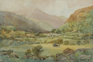 Gladys Wynne (1876-1968)  Glenmalure, Co. Wicklow (400-600)