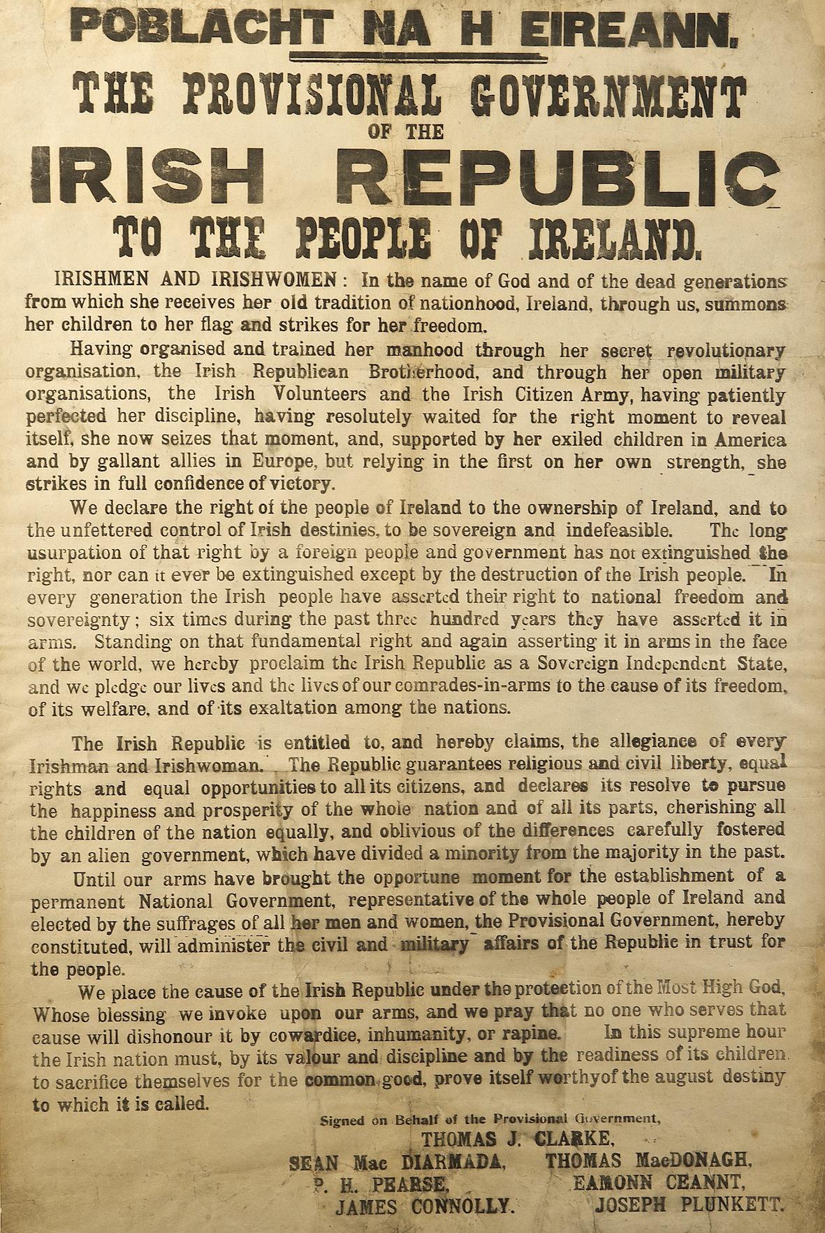 Irish Declaration of Independence