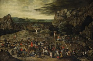Pieter Brueghel the Younger, Calvary - 1615 (£3-4 million).