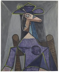 Pablo Picasso Portrait de Femme (Dora Maar) ($25-35 million) Courtesy Christie's Images Ltd., 2014