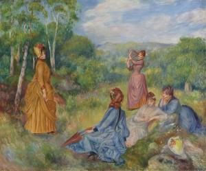 Pierre-Auguste Renoir Jeunes filles jouant au volant circa 1887 ($10,000,000-15,000,000)