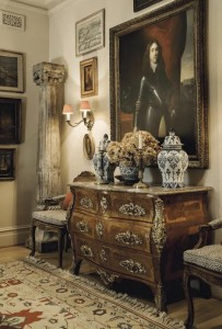 The interior of the home of Lex Gonzalez and Alfredo Bouret Gonzalez.  Courtesy, Christie's Images Ltd., 2014