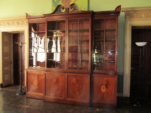 Regency Mahogany Four Door Breakfront Bookcase (8,000-12,000).