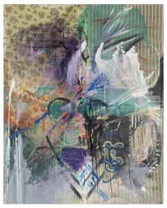 Sigmar Polke Untitled, 1983 Acrylic, artificial resin, lacquer and dispersion Courtesy Christie's Images Ltd., 2014.