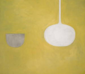 WILLIAM SCOTT, R.A. 1913-1989 QUIET OCHRE (at auction for the first time) (£100,000 — 150,000).