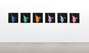Andy Warhol  Six Self Portaits, 1986 ($25-35 million). Copyright in this image is vested in Sotheby's.